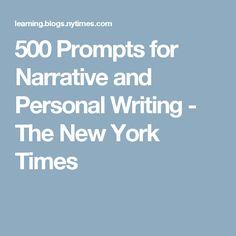 Narrative essay new york