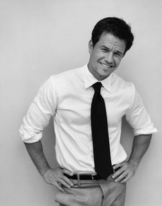 Mark Walberg- Sorry, Mark, what were you saying? I was too distracted by your nice smile and the way you wear your, um.. shirt.