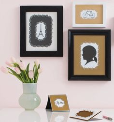 Frame your favorite prints with intricate and beautiful designs with the Frame Border Punch from #marthastewartcrafts