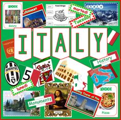 RESOURCES INCLUDE: Country Information Presentation – covering all the key facts about the country – such as history, geography, language, landmarks, touri. Italy Geography, Guide Badges, Number Flashcards, Country Information, Geography Lessons, National Curriculum, Italian Language, Matching Games, Colouring Pages