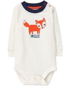 Hello Fox Bodysuit
