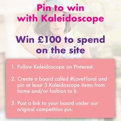 Enter our Competition 🌸 Make sure you post a link to your board in the comments below👇 Create A Board, Competition, Love, Floral, How To Make, Amor, Flowers, Flower