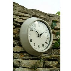 Outdoor Waterproof Clock by Garden Trading
