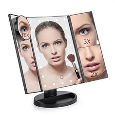 Chende Hollywood Makeup Vanity Mirror With Light Bulbs