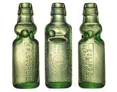 Codd bottle from Australia ECLIPSE AERATED WATER AND ICE MANUFACTURING Co. KALGOORLIE Size : 18,5 cm