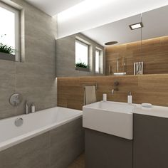 Bathroom Photos, Bathroom Doors, Bathroom Rugs, Bathroom Ideas, Bathrooms, Bathroom Inspiration, Bathtub, Mirror, House