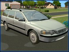 Fresh-Prince Creations - Sims 2 - 2001 Volvo V70