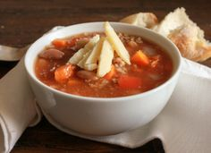 Italian Crock Pot Two Bean Chilli Soup