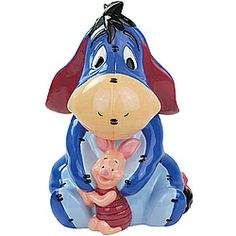 cookie jars disney | Disney® Piglet And Eeyore Cookie Jar - Cookie Jars - Kitchen - Betty ...