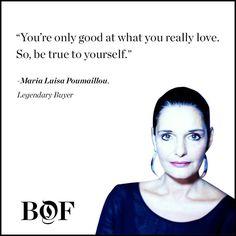 Maria Luisa Poumaillou, Buyer