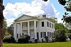 """Liberty Hall"" or Harris House in Camden, AL (1855)"