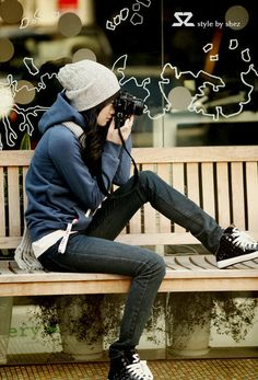 slouchy beanie (have) great hoodie (need?) skinny jeans (have) black chucks (have)