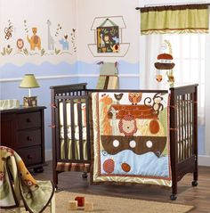 love the color and animal theme. keeping this for reference when our place / baby's room is ready!