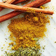 Spice powers:  Cinnamon - helps metabolize glucose. 1/2 t daily reduces diabetes and heart disease risk.  Oregano - 1 t = same vit k as 3 cups spinach. *** And research shows can help fend off stomach flu***  Cayenne pepper - helps crank up metabolism and burn extra calories.  Cumin - 1 T keeps immune system in top shape (try on cooked carrots w/ olive oil and sea salt)