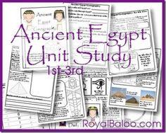 FREE Ancient Egypt Unit Study
