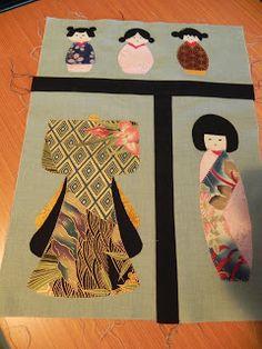 El blog de Montse. Puntada a puntada: That Japanese Doll Quilt