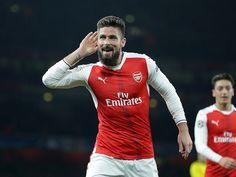 Result: Olivier Giroud nets scorpion kick in Arsenal win over Crystal Palace
