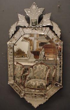1950's Venetian Mirror from www.jasperjacks.com