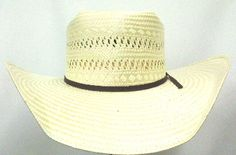 ebf376f76f1 Resistol Odessa Natural Poly Rope 4.25 Brim Brick Crown Straw Cowboy Hat