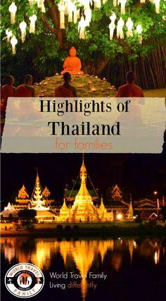 Highlights of Thailand for Families. via /worldtravelfam//