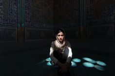 Girl in Sheikh Lotfollah Mosque, Isfahan Photo by Corneliu Cazacu -- National Geographic Your Shot