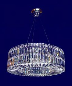 Contemporary round Crystal pendant chandelierCW-5001-30.  Chandelierwarehouse.com