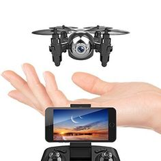 Mini Drone with HD Camera WiFi FPV Live Video One Key Return Headless Mode 6 Axis Gyro Remote Control Helicopter Small Quadcopter Nano Drone for Kids Beginners Adults Micro Drone, Small Drones, Drone With Hd Camera, Drone For Sale, Drone Technology, Drone Quadcopter, Drone Photography, Wifi