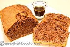 Reteta culinara Chec cu cafea expresso si nuca din categoria Dulciuri. Cum sa faci Chec cu cafea expresso si nuca Loaf Cake, Sweet Bread, Banana Bread, Deserts, Fruit Cakes, Espresso, Food, Espresso Coffee, Essen