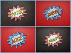 Partyummy's Birthday / Superhero - Photo Gallery at Catch My Party Superhero Birthday Party, Birthday Party Themes, Logo Batman, Captain America, Supergirl, Spiderman, Alice, Animation, Pop Art