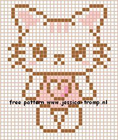 102 Free cross stitch designs cats 5 stitchingcharts borduren gratis borduurpatronen poezen katten kruissteekpatronen