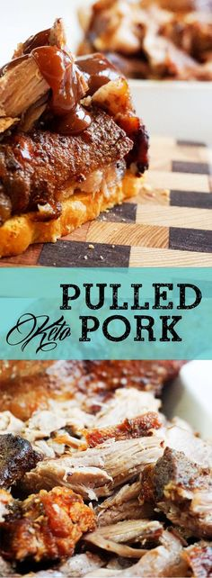 We know how daunting the task of cooking several pounds of meat can be so we created our Easy Pulled Pork in times of need! The entire process takes anywhere from three to four hours, depending on the (Ketogenic Recipes Pizza) Keto Foods, Ketogenic Recipes, Ketogenic Diet, Pork Recipes, Low Carb Recipes, Zoodle Recipes, Chicken Recipes, Recipies, Easy Pulled Pork