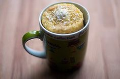 coconut microwave cup cake