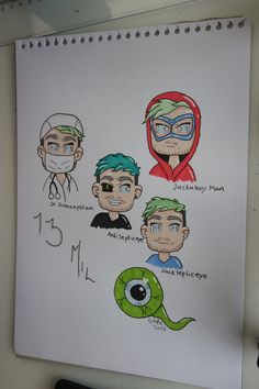 this is almost a Q and A but it's about Anti role-playing, answering … Jacksepticeye Drawings, Jacksepticeye Memes, Pewdiepie, The Blue Boy, Septic Eye, Jack And Mark, Darkiplier, Youtube Gamer, Septiplier