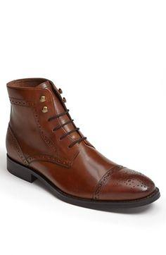 Johnston & Murphy 'Tyndall' Cap Toe Boot