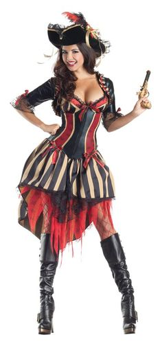 Pirate Costume Adult Body Shaper Sexy Pirate Costume ideas Halloween Costumes,Large