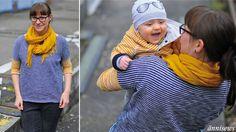 ännisews: FrauKarla und Yellow Sky Jacke *Partnerlook – Schick in Strick*