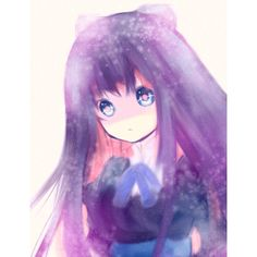 blue eyes feb19 0x0 no nose panty & stocking with garterbelt solo... ❤ liked on Polyvore featuring anime