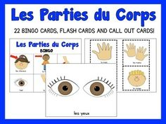 Bingo games are great to review and support the vocabulary you are exploring in class. They're a fun way to provide repetition.Use the game's call-out cards to introduce the vocabulary. Invite your students to create simple sentences such as:Cest la main  or Ce sont les mains Have the children repeat the vocabulary after you when playing the bingo game.