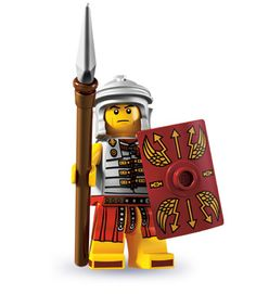 """Roman Soldier -- """"I'll march anywhere, fight anyone, and build anything you command!"""" 