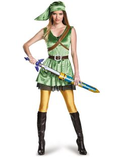 Halloween The Legend Of Zelda Link Costume Adult