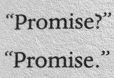 Luke, you promised