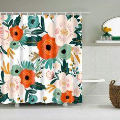 Drastically enhance your bathroom decor with a soft & stylish fabric shower curtain from Shower Curtain Art.