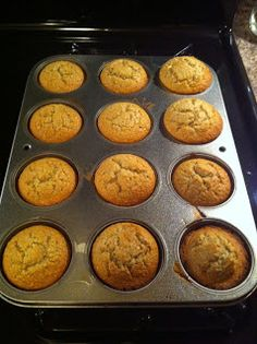Passionista: Healthy Banana Oat Muffins