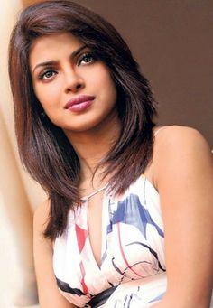 Priyanka Haircuts For Medium Hair, Long Bob Hairstyles, Bollywood Celebrities, Bollywood Fashion, Parneeti Chopra, Celebrity Prom Dresses, Priyanka Chopra Hot, Beautiful Bollywood Actress, Portraits
