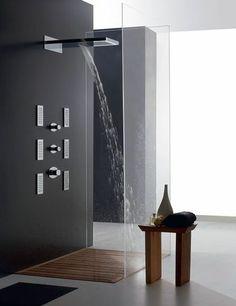 Et toujours : Une douche à l'italienne so design - Salle de bains : plus de 30 modèles coups de coeur - CôtéMaison.fr