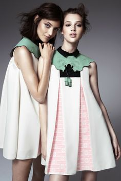 Looks from Munji Kim's winning collection for H & M. [Courtesy Photo]