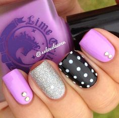 Image via Trendy nail Art ideas for summer 2015 Image via Trendy Nail Art Ideas for 2015 Image via Pin van Amber Dagnillo op Trendy Nails. Image via Lovely Nail Art Ideas Fancy Nails, Love Nails, Get Nails, How To Do Nails, Hair And Nails, Bling Nails, Fabulous Nails, Gorgeous Nails, Pretty Nails