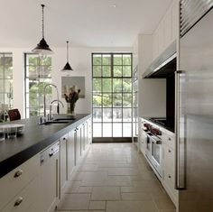 5 Ideas to Steal from a Beautiful Australian Kitchen — Decus Interiors   Apartment Therapy  The countertop on the 'island' features a super-thick edge detail, which is a great way to make your countertop seem more substantial and give it a little more visual weight.