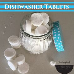 Make your own dishwasher tablets with my super easy recipe, so you can reduce your families exposure to chemicals AND save money!