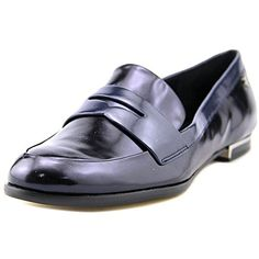 Calvin Klein Womens Celia Penny Loafer Perla Nero 9 M US *** Want additional info? Click on the image.